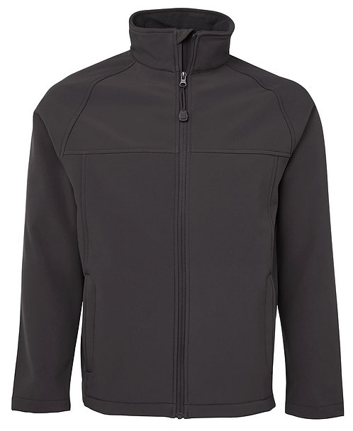 Men's Layer Soft Shell Jacket Charcoal