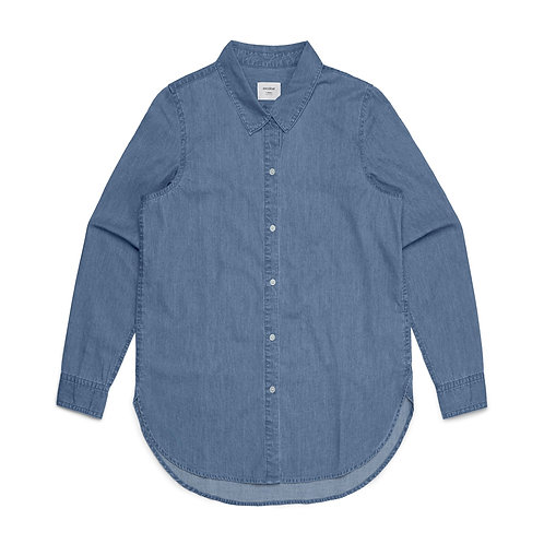 AS Colour Womens Chambray Shirt - From