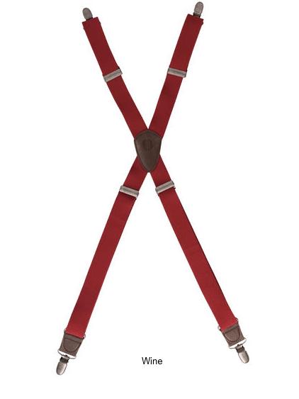 Berkeley Solid Apron Suspenders