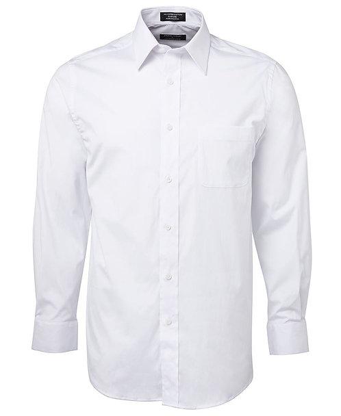 Urban L/S Poplin Shirt - White