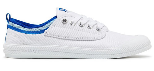 Dunlop Volley International Canvas - White/Blue
