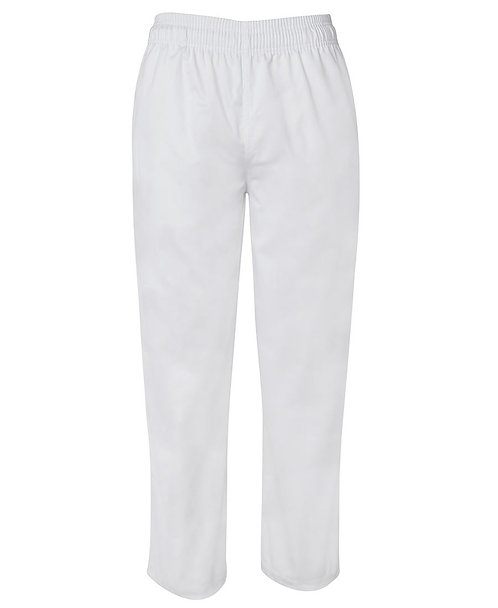 Chefs Elasticated Pant -White
