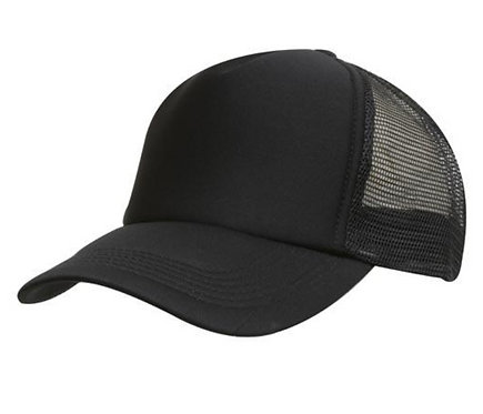Truckers Foam Mesh Cap - Black Pack of 10