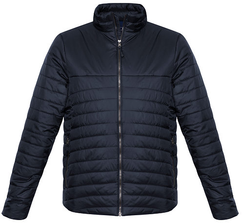 Mens Expedition Quilted Jacket Navy