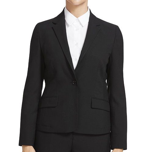 NNT Everyday 2 Button Mid Length Jacket - Black