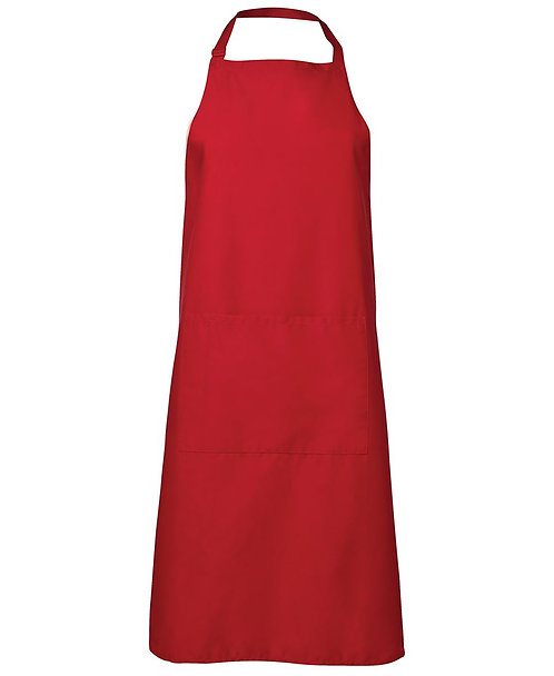 Apron with Pocket - Red