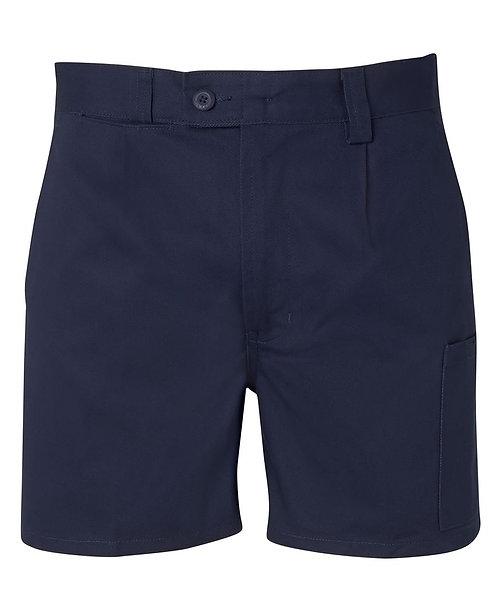 JB's Mercerised Short Leg Short - Navy