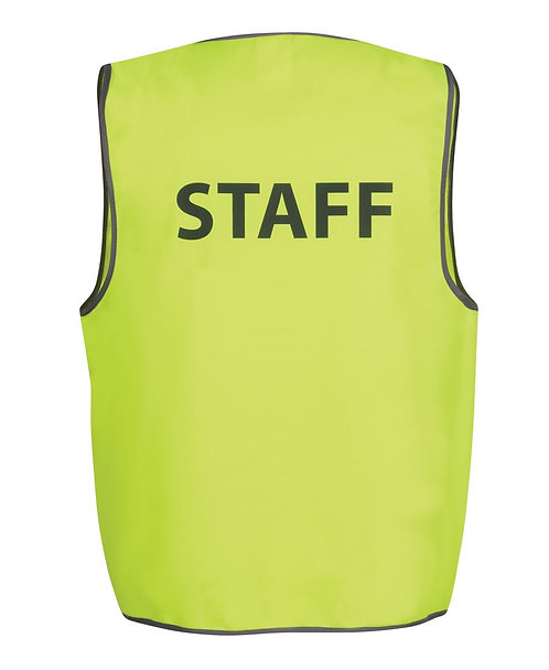 Hi Vis Safety Vest - STAFF