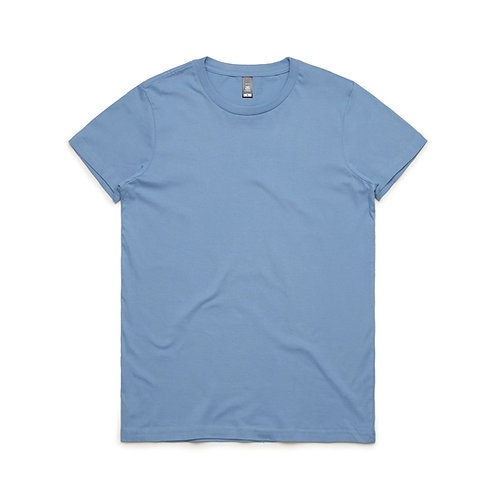 AS Colour Womens Maple Tee - Carolina Blue