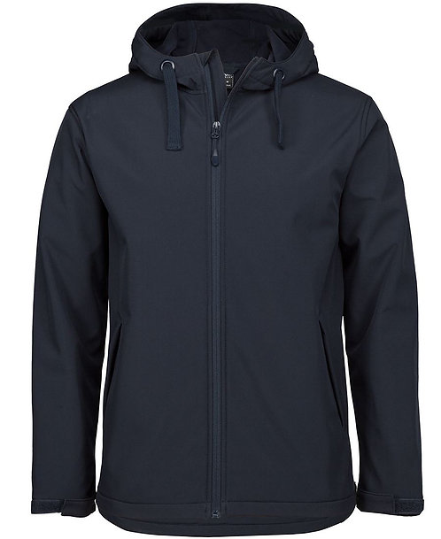 Unisex Podium Water Resistant Hooded Jacket - Navy