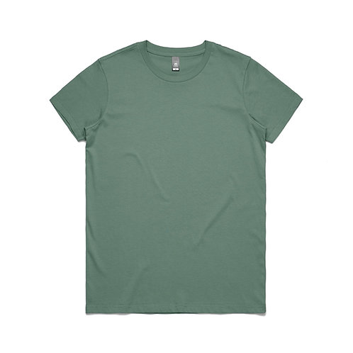 AS Colour Womens Maple Tee - Sage