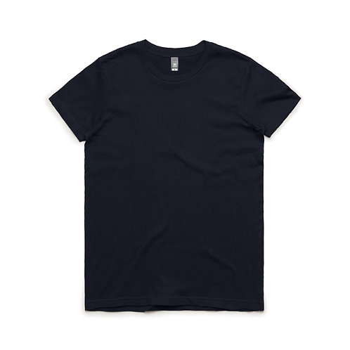 AS Colour Womens Maple Tee - Navy