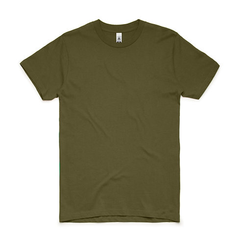 AS Colour Block Tee Army - From