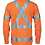 Thumbnail: HiVis Cool-Breeze 155gsm Cotton with 'X' Back & additional 3m r/Tape on Tail