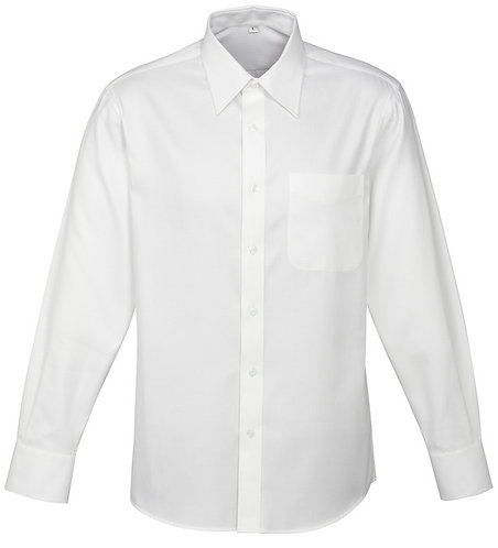 Mens Luxe Shirt - White