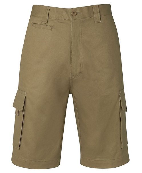 JB's Mercerised Work Cargo Short - Khaki