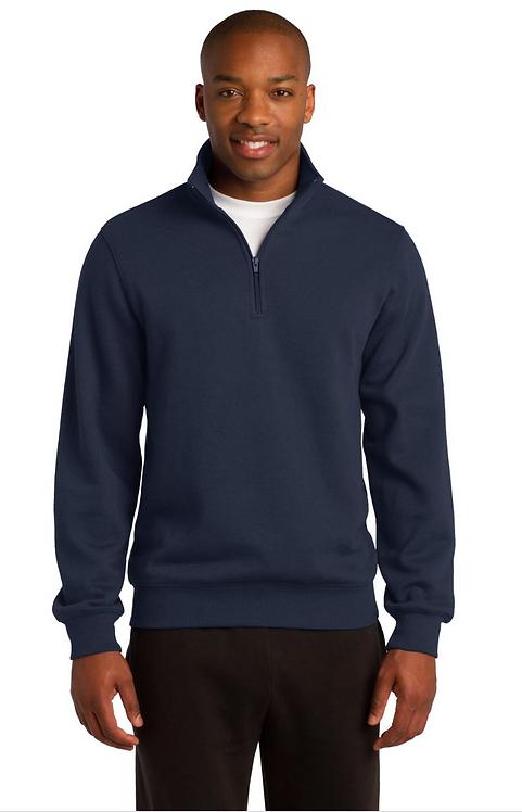 1/4-Zip Sweatshirt Navy -  MOQ 10