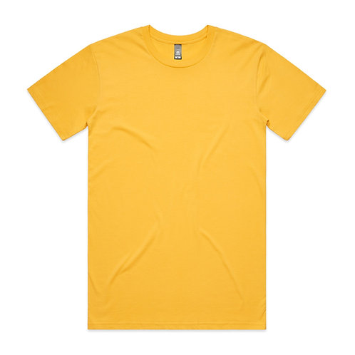 AS Colour Mens Staple Tee - Yellow