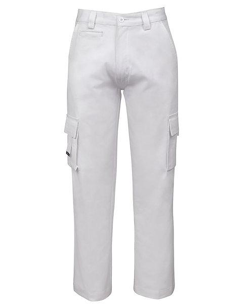 JB's Mercerised Multi Pocket Pant - White