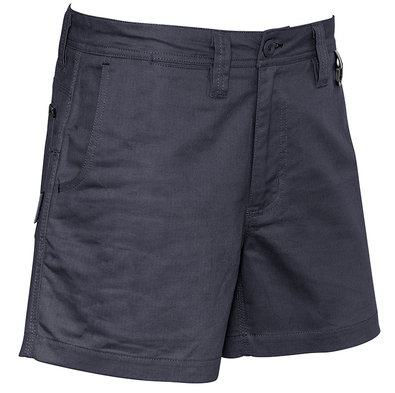 Syzmik Mens Rugged Cooling Short Short - Charcoal