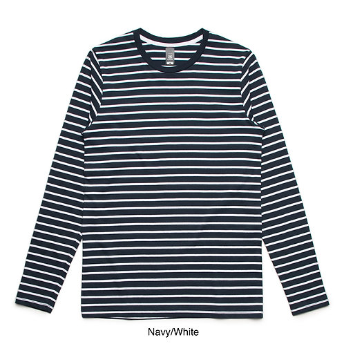 AS Colour Mens Match Stripe LS Tee - Available from