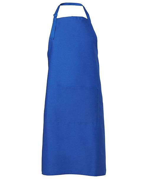 Basic Bib Apron - Royal Blue