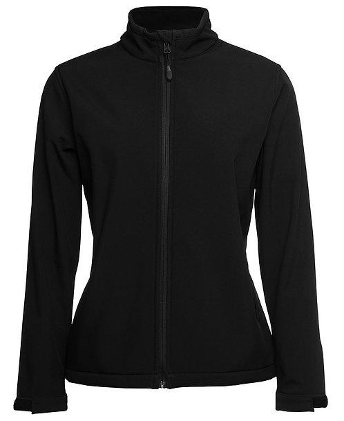 Ladies Podium Water Resistant Softshell Jacket - Black