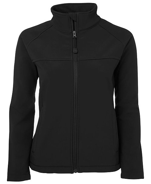 Ladies Layer Soft Shell Jacket Black