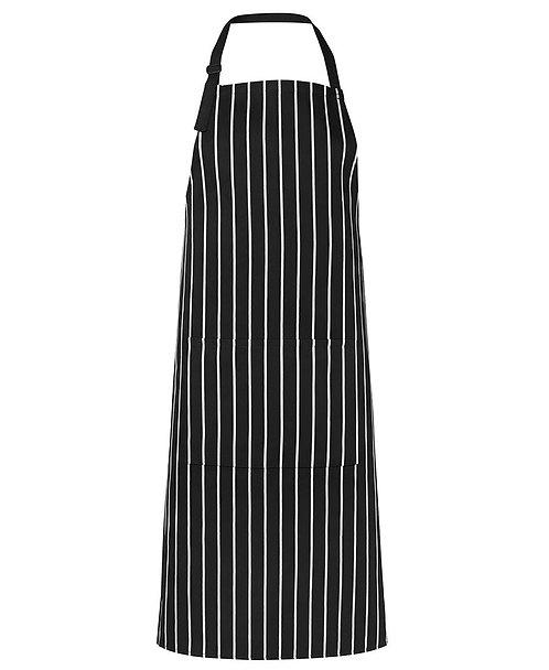 Black Striped Apron