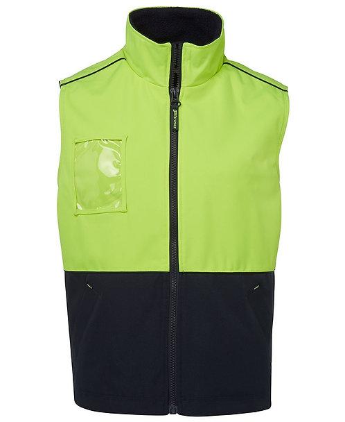 Hi-Vis All Terrain Vest - Lime/Navy
