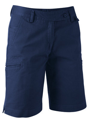 King Gee Womens Drill Short - Navy