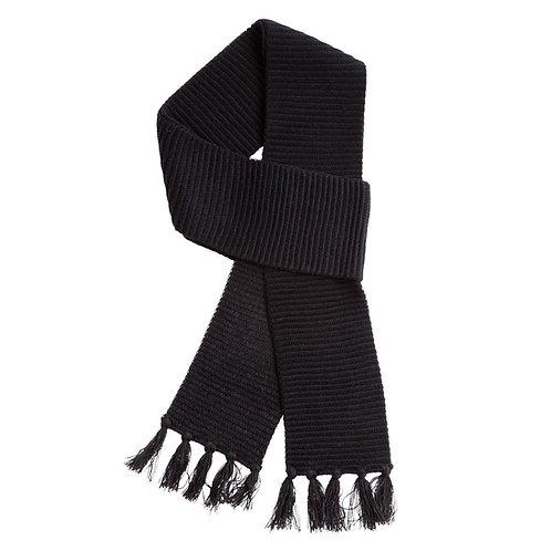 Ruga Knit Scarf Black - MOQ 10