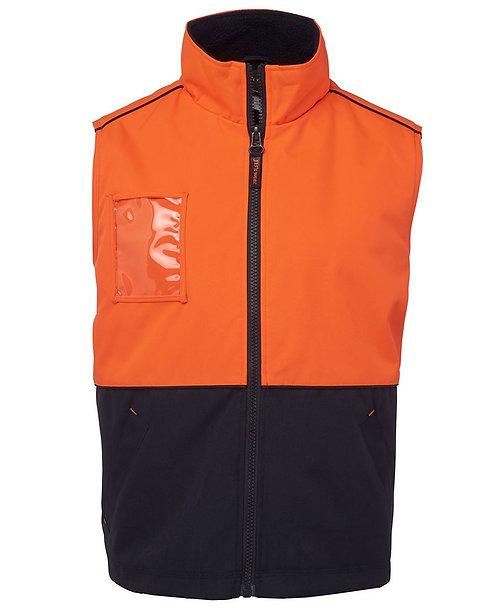 Hi-Vis All Terrain Vest - Orange/Navy