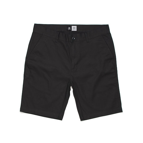 AS Colour Chino Short Black - Available from $29.25
