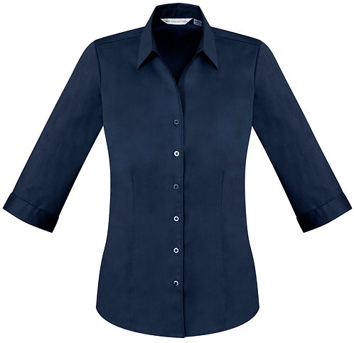 Womens Monaco 3/4 Sleeve - Navy