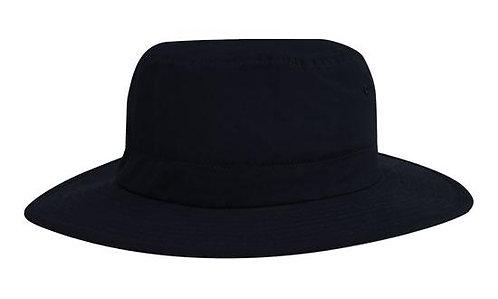 Microfibre Adjustable Bucket Hat Black - MOQ 5