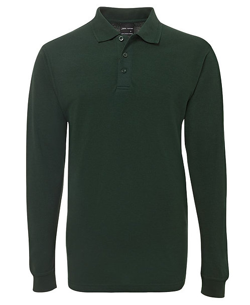 Long Sleeve Polo Shirt - Bottle