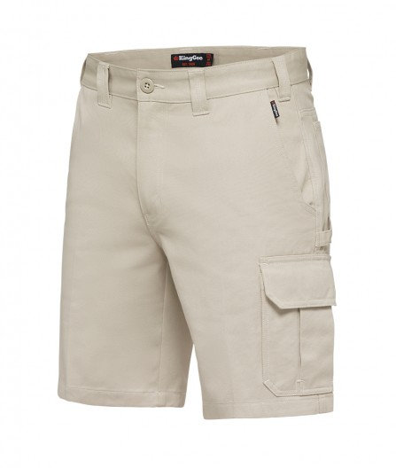 King Gee New G's Worker Short - Stone