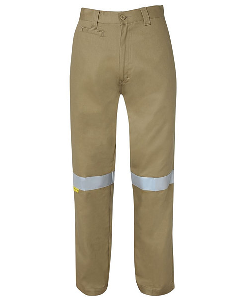 JB's Mercerised Work Trouser with 3M Tape - Khaki