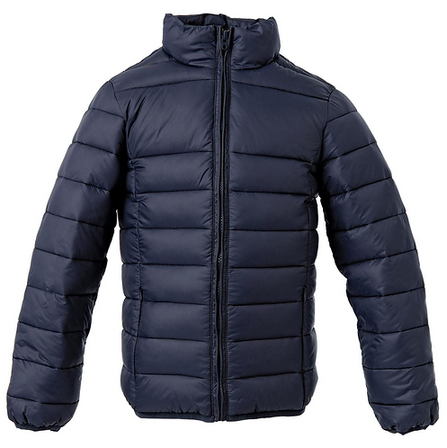 The Weather Shield Youth Puffer Jacket - Navy