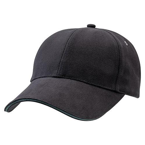 Sandwich Peak Cap Black/Bottle -  Pack of 10