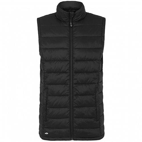 Mens Sporte Leisure Whistlers Soft Tec Vest - Black