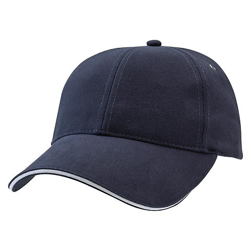 Sandwich Peak Cap Navy/White -  Pack of 10