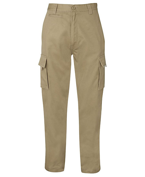 JB's Mercerised Work Cargo Pant 6MP Perfect Fit - Khaki