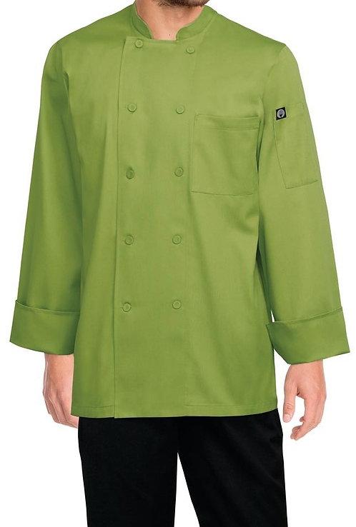 Lime Basic Chef Jacket - MOQ