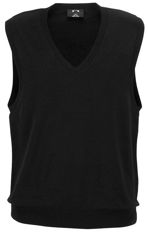 Womens V-Neck Vest - Black