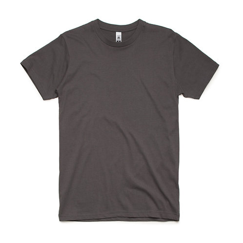 AS Colour Block Tee Charcoal - From
