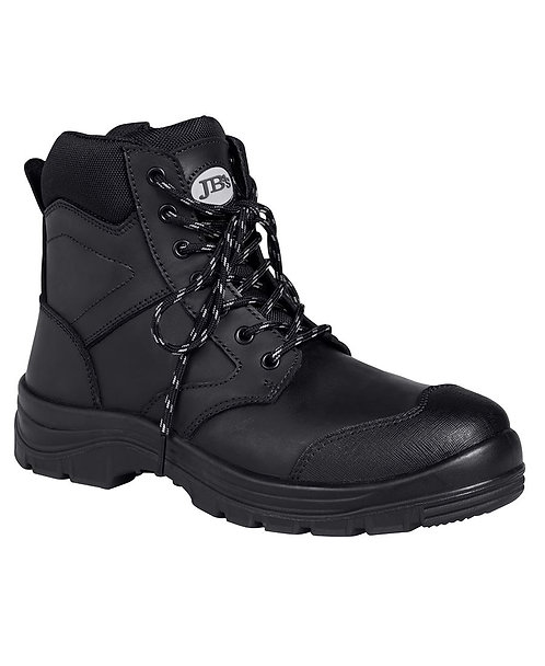"""JB's 5"""" Zip Boot - Black"""