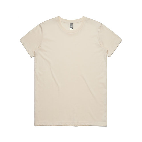 AS Colour Womens Maple Tee - Natural