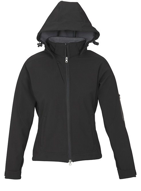 Ladies Summit Jacket - Black/Graphite
